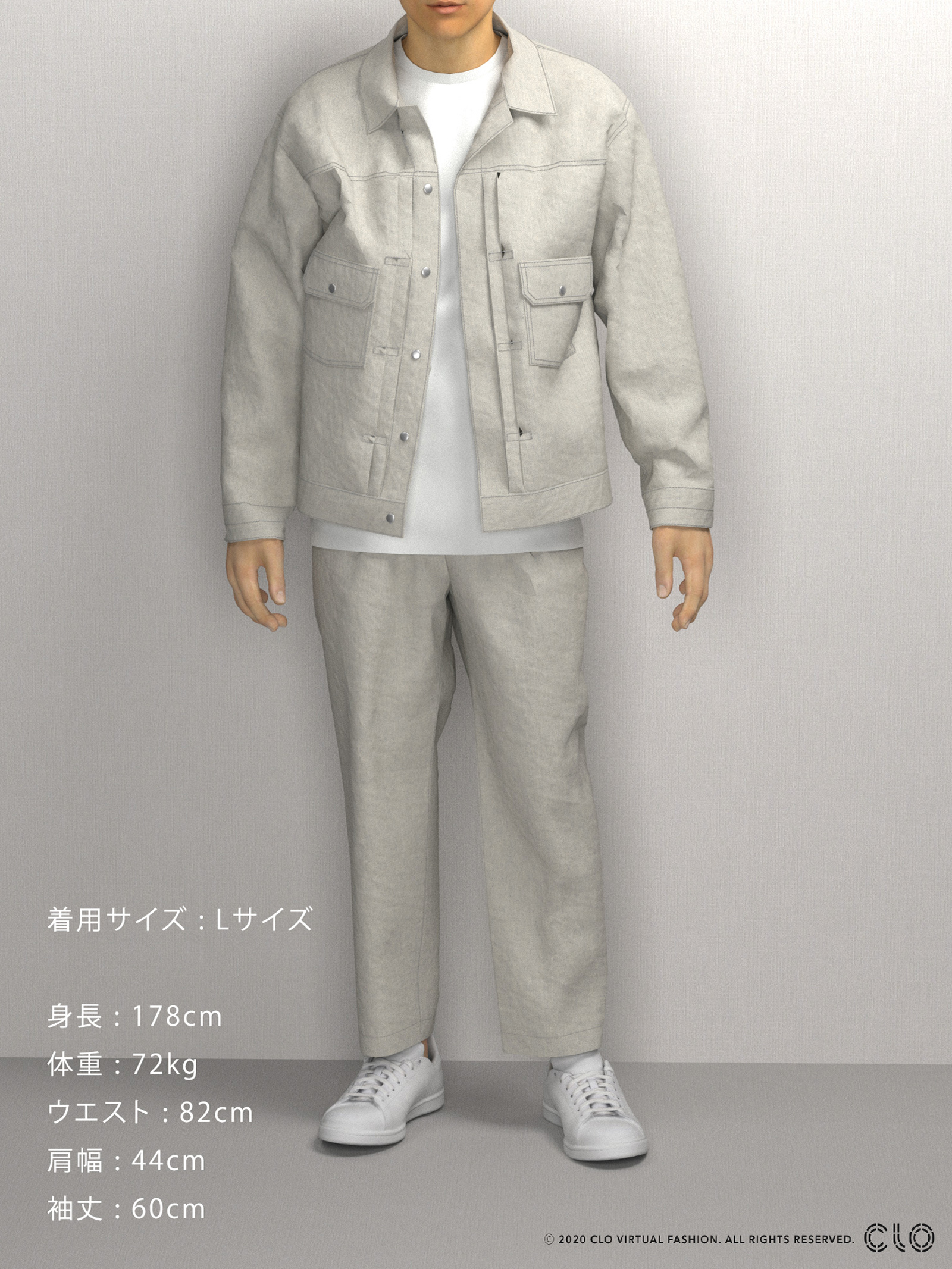 DAILY JEAN JACKETのサムネイル9