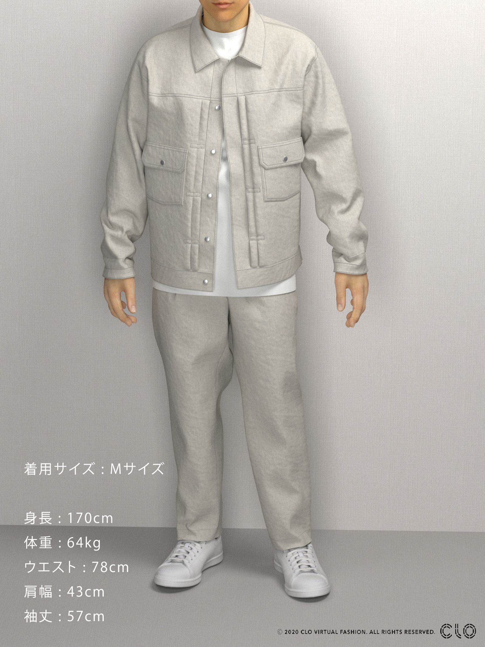 DAILY JEAN JACKETのサムネイル10